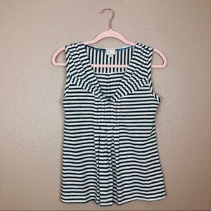 Anthropologie postmarked striped top